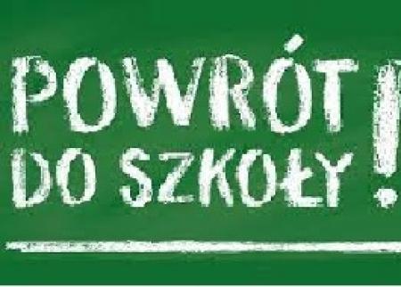 1 września 2021 - rozpoczęcie roku szkolnego 2021/2022